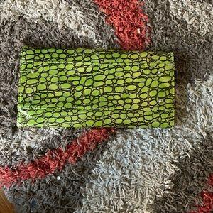 Miche green snake skin Wallet